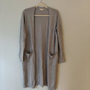 Lightweight Grey Cardigan | Mystree | S
